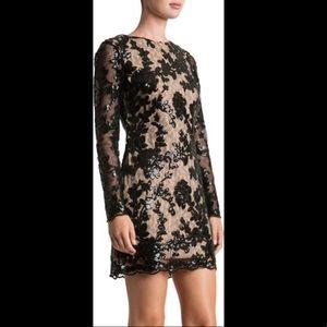 DRESS THE POPULATION Grace A-Line Dress - S